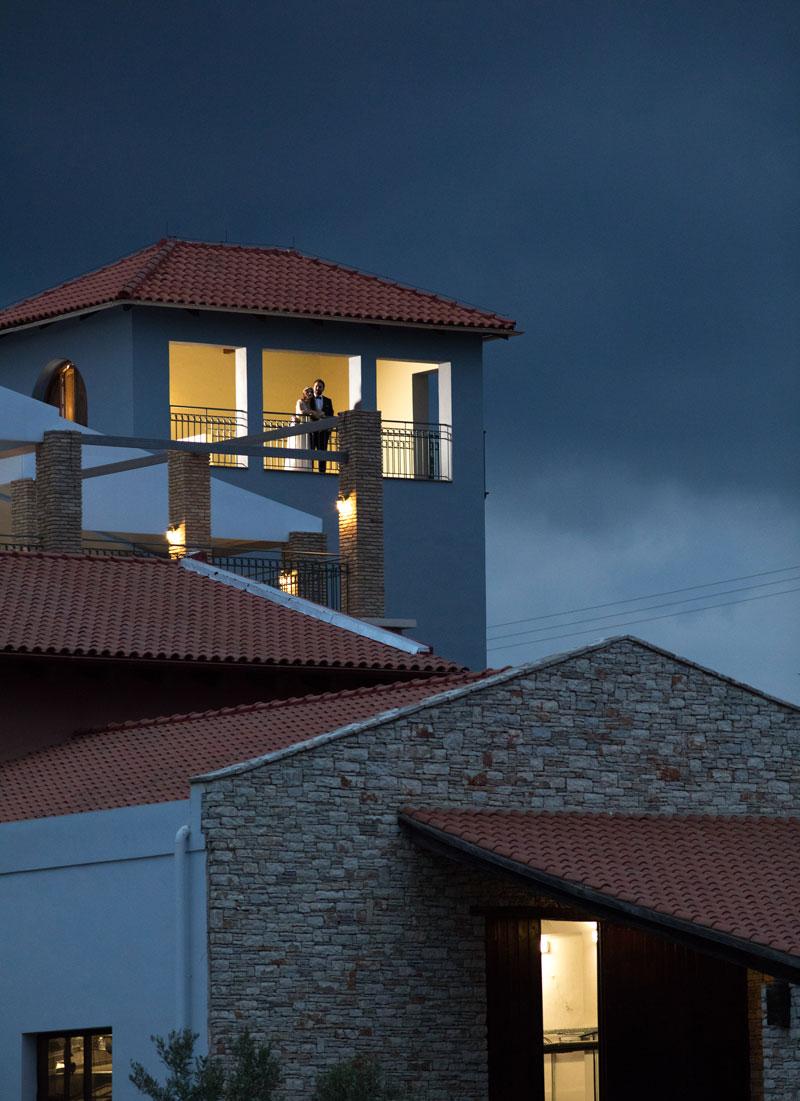Ζευγάρι στον Πύργο Κανιάρη - Γάμος