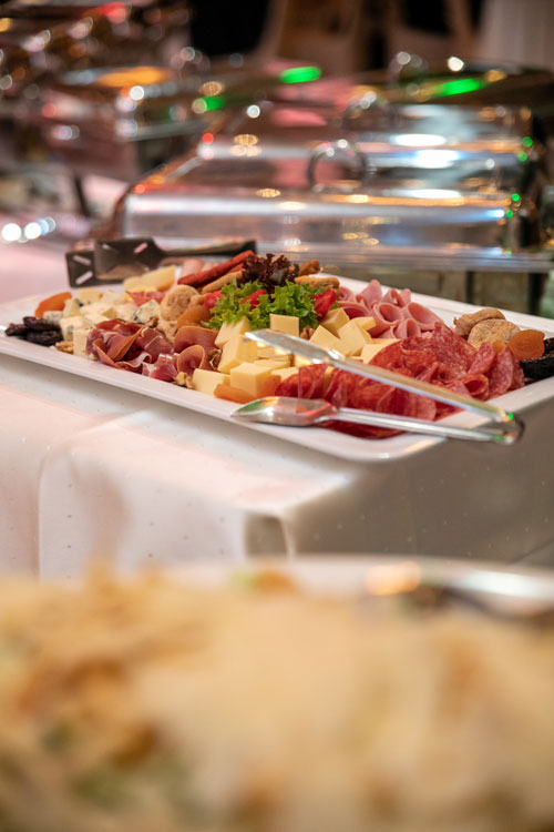 buffet catering σε γάμο